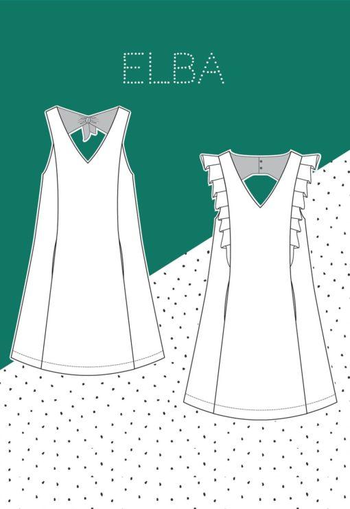 Patron couture robe Elba - Slow Sunday