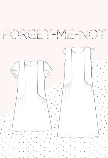 patron de couture Robe Forget Me Not - Slow Sunday