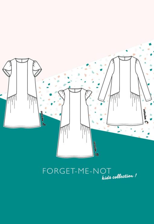 patron Robe Forget Me Not fillette - Slow Sunday