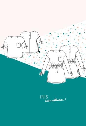 patron Robe / top Iris fillette - Slow Sunday