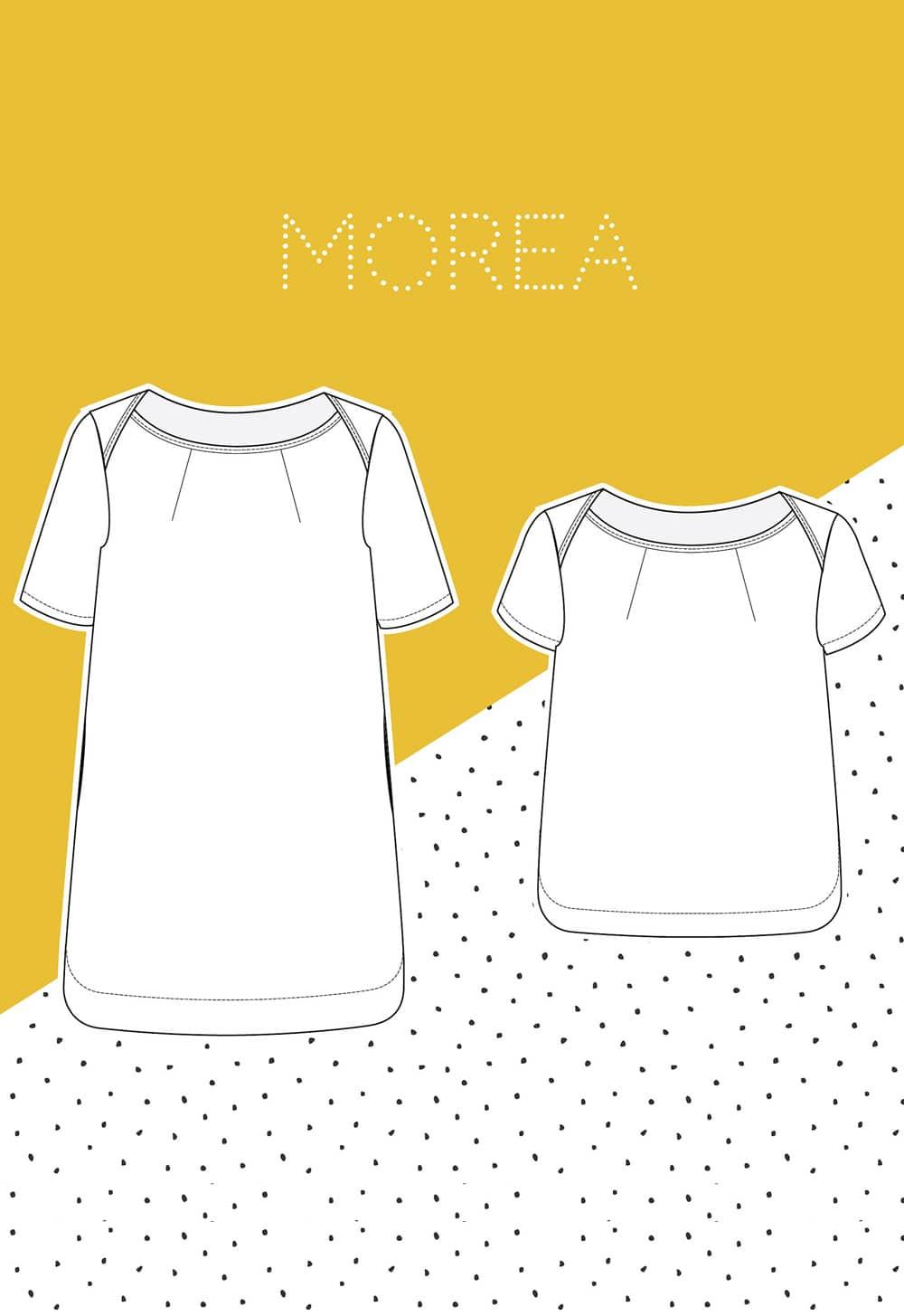 Patron couture robe / top Morea - Slow Sunday