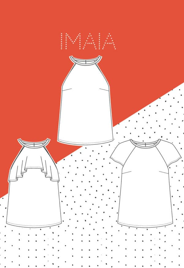 Patron couture Top Imaia - Slow Sunday