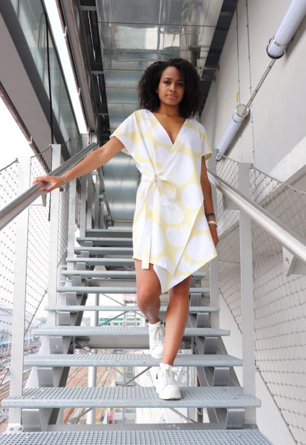 patron couture Robe Brumer - Milan AV-JC