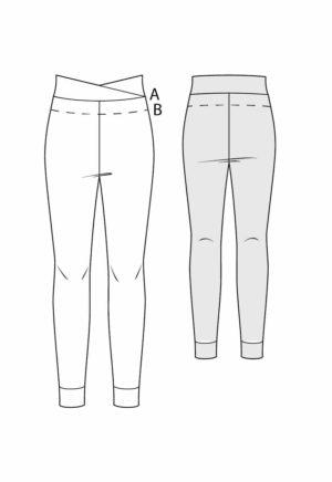 patron de couture Legging Molly - Kommatia Patterns