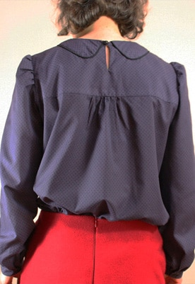 patron Blouse Miss Ronsard - Gasparine - Oh My Pattern