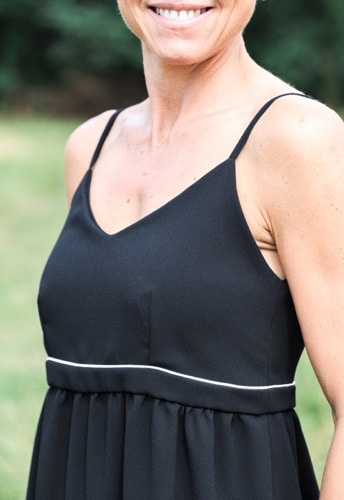 patron Robe Caraco Miss Manon - Gasparine - Oh My Pattern