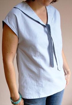 patron Robe Tunique Miss Marinette - Gasparine - Oh My Pattern