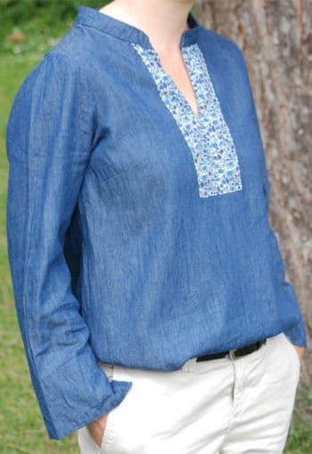 patron Robe Tunique Miss Jaipur- Gasparine - Oh My Pattern