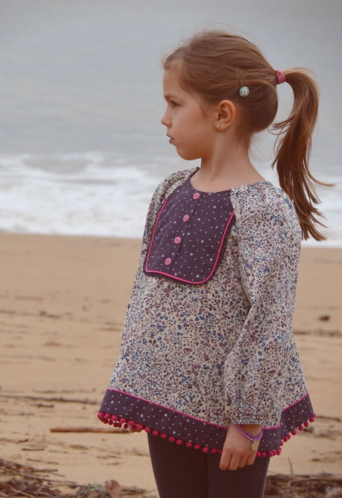 Oh my pattern - patron Blouse Sweetie - Lou and Me