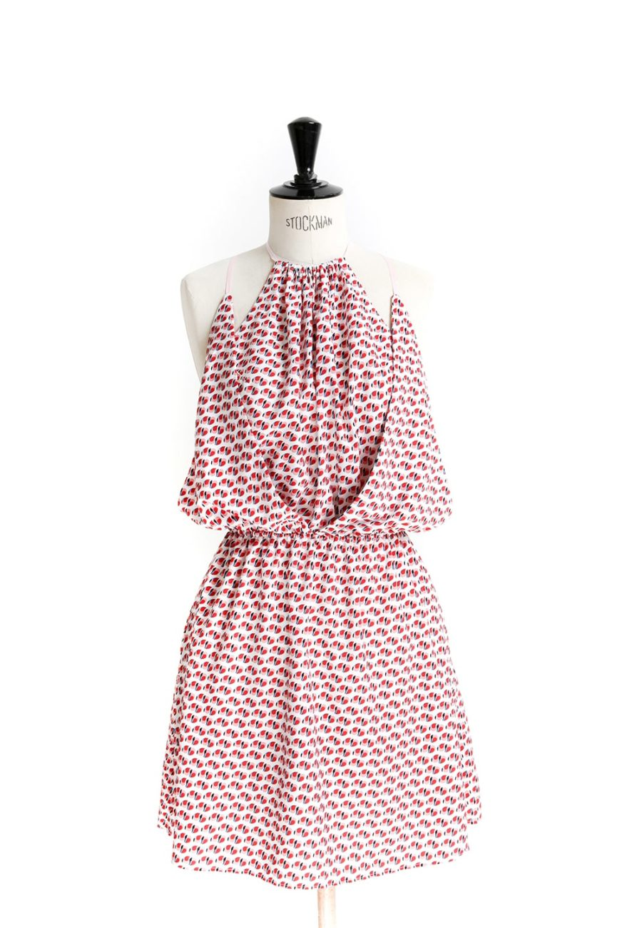 Oh My Pattern - patron couture Robe dos nu 9005 - DP Studio