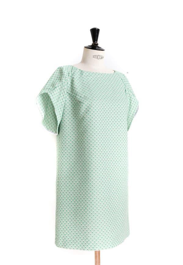 Oh My Pattern - patron couture Top / Robe trapèze 9001 - DP Studio