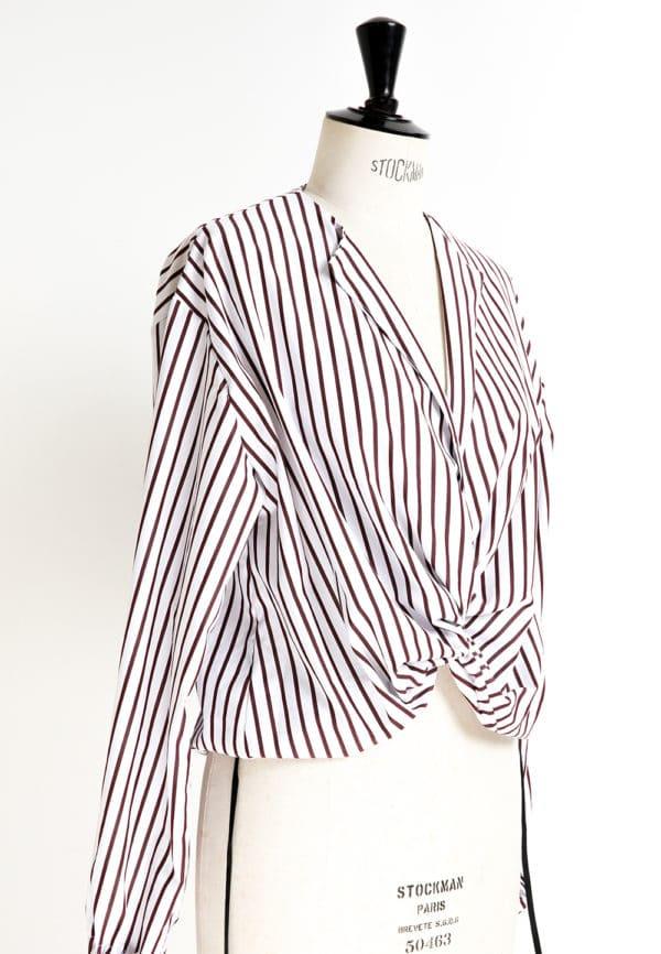 Oh My Pattern - patron couture Blouse nouée 5001 - DP Studio