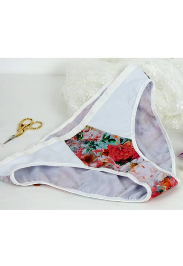 Oh My Pattern - patron couture Slip Brésilien Cerise - Vanessa Salaün