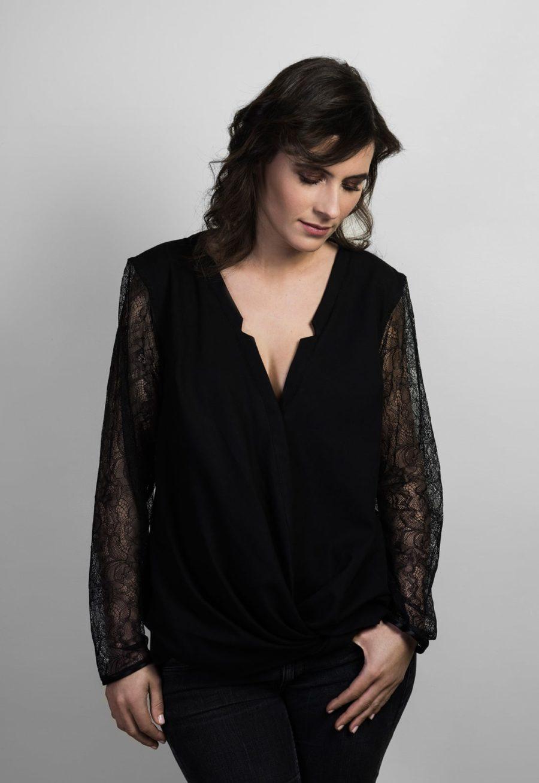 Oh my pattern - patron de couture Blouse Helsinki - Orageuse
