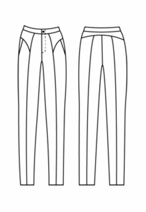 Oh My Pattern - patron de couture jean Otsu - Papercut Patterns