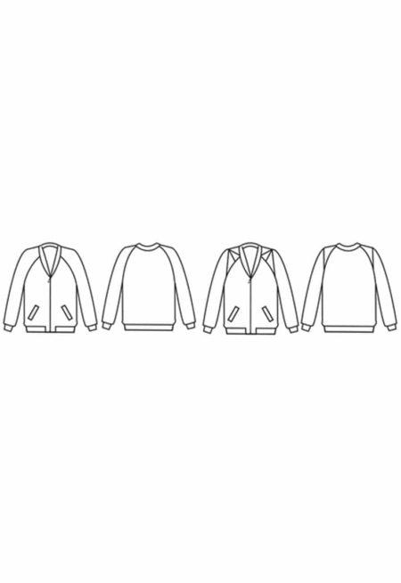 Oh My Pattern - patron de couture Bomber Rigel - Papercut Patterns