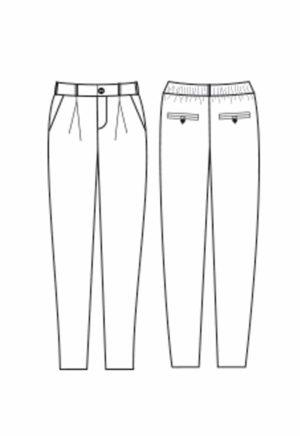 Oh My Pattern - patron pantalon Guise - Papercut Patterns