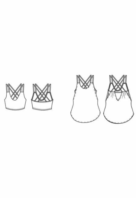Oh My Pattern - patron de couture Brassière Pneuma - Papercut Patterns