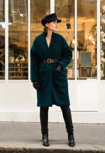 Oh my pattern - patron de couture Manteau Riga - Orageuse