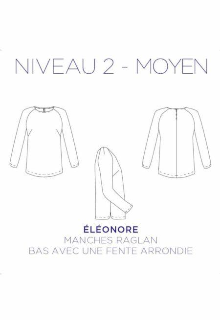 Patron Couture Tunique Eléonore - C'est Moi le Patron
