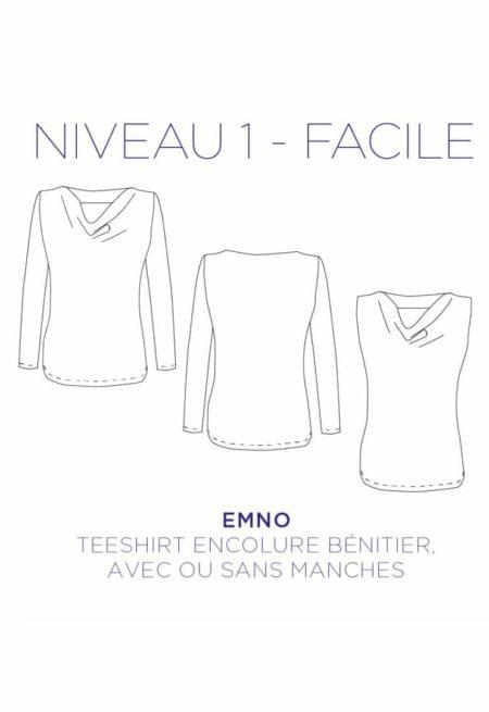 Patron couture T-shirt Emno - C'est Moi le Patron