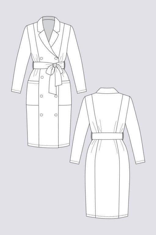 Robe manteau Pilvi - Named Clothing