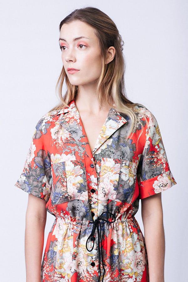 patron couture Robe chemise Reeta - Named Clothing
