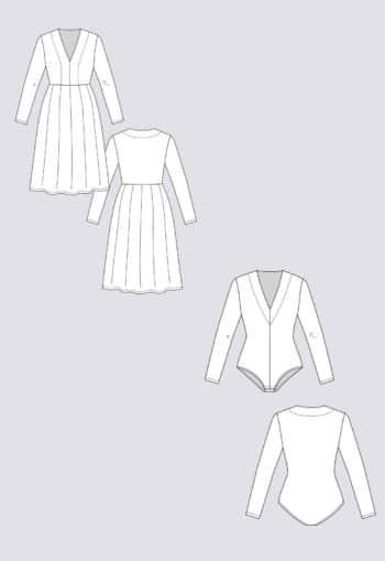 Patron de couture Robe Tuuli - Named Clothing