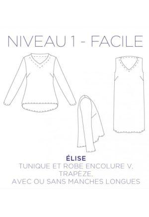 Patron Robe / tunique Elise - C'est Moi le Patron