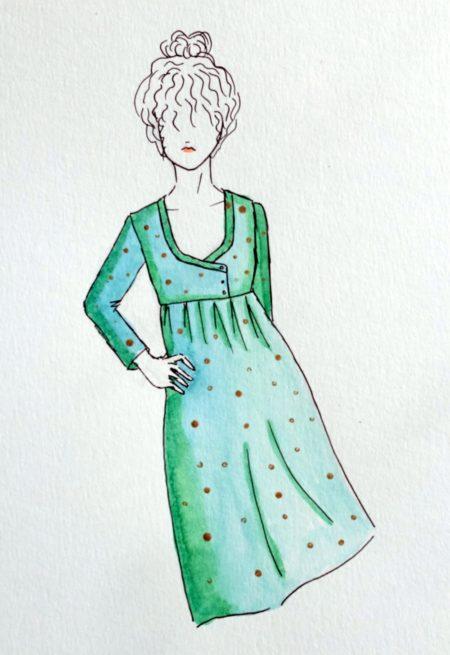 Patron Robe blouse Sybil - Dessine Moi Un Patron
