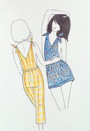 Patron de couture Salopette Sailor - Dessine Moi Un Patron