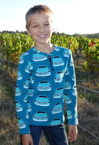 Patron Tee-shirt Sinbad - Petits d'Om