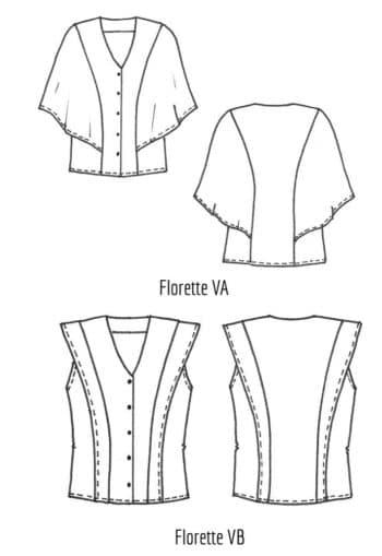 Chemisier Florette - Cousette