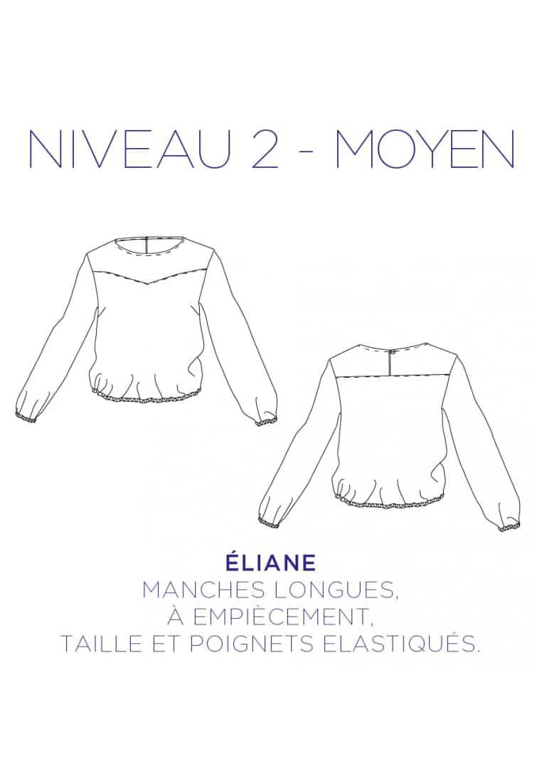Tunique Eliane - C'est Moi le Patron par Coralie Bijasson