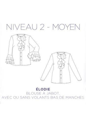 Patron Blouse Elodie - C'est Moi le Patron par Coralie Bijasson