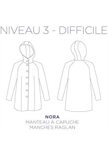 Patron couture Manteau Nora- C'est Moi le Patron par Coralie Bijasson