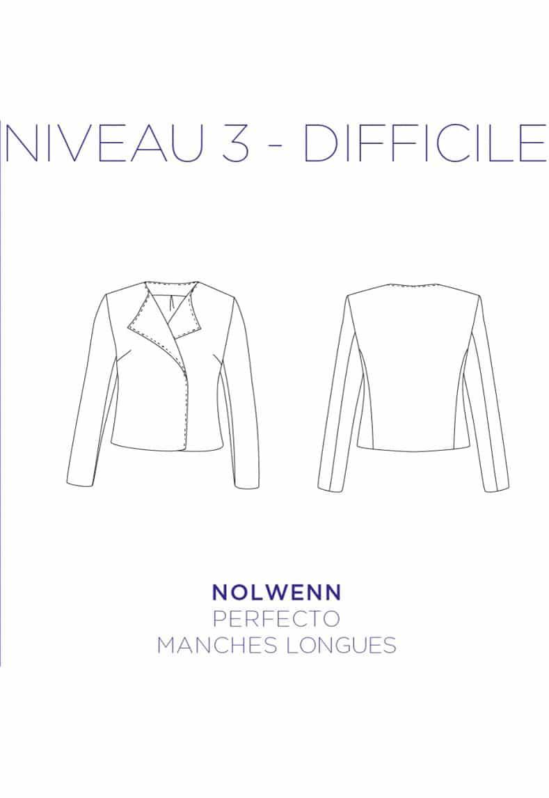 Patron couture Perfecto Nolwenn - C'est Moi le Patron par Coralie Bijasson