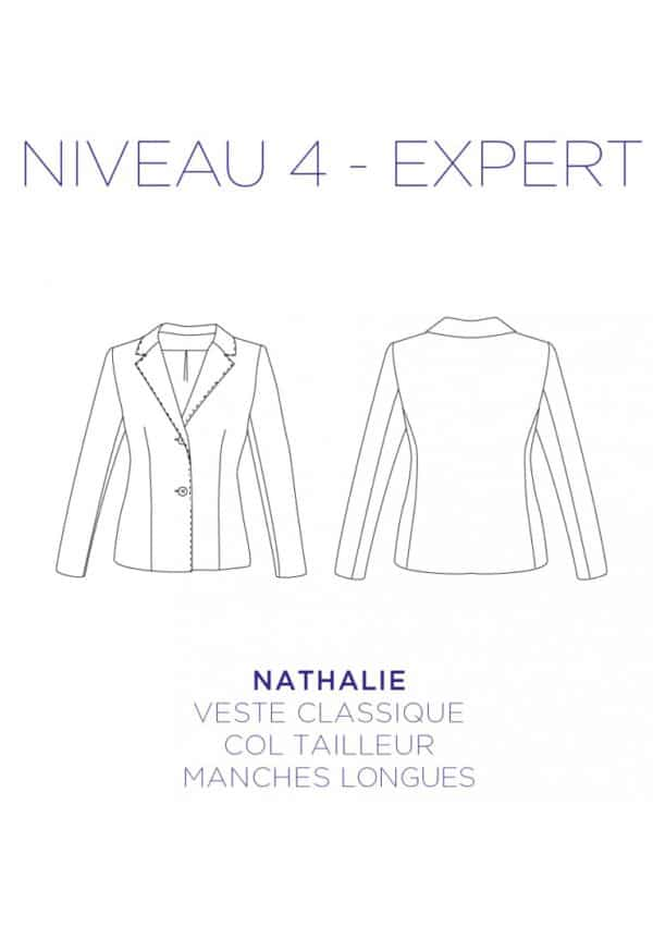 Patron Veste Nathalie - C'est Moi le Patron par Coralie Bijasson