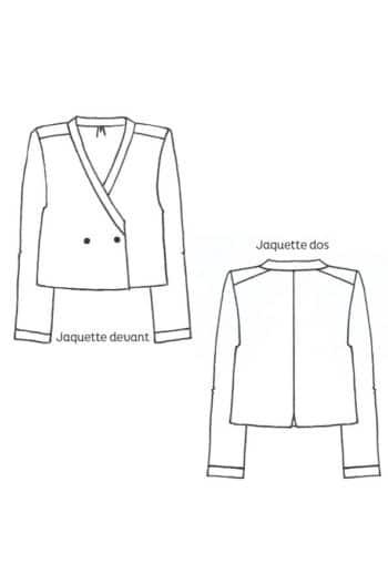Patron Veste Jacquette - Cousette
