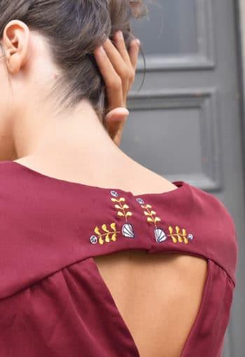 Patron Blouse / robe Artesane - Atelier Scammit