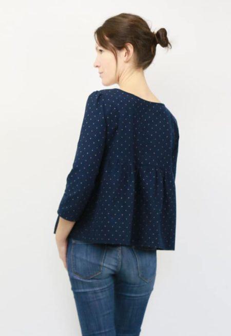 Patron Blouse / robe Eugénie - Atelier Scammit