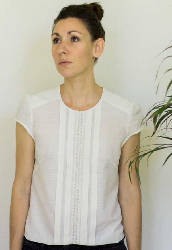 Patron de couture Blouse Léonie - Mimoi