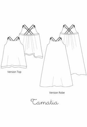 Top / robe Tamatia Enfant - A&A patron