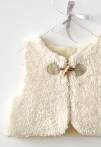 Patron couture Gilet Colin - A&A patron