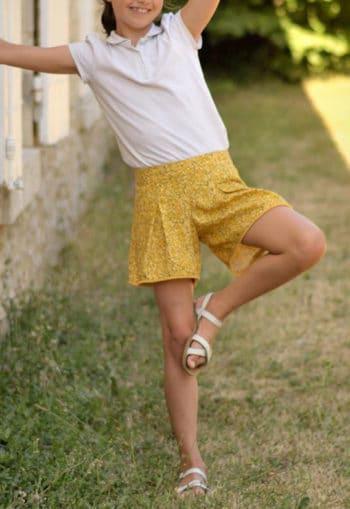 Patron de couture Short Mouffetard du 2 au 10 ans - A&A patron