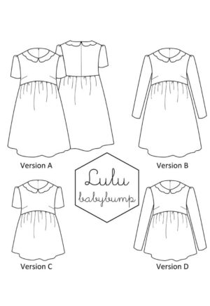 Patron couture Robe Lulu Babybump - A&A patron