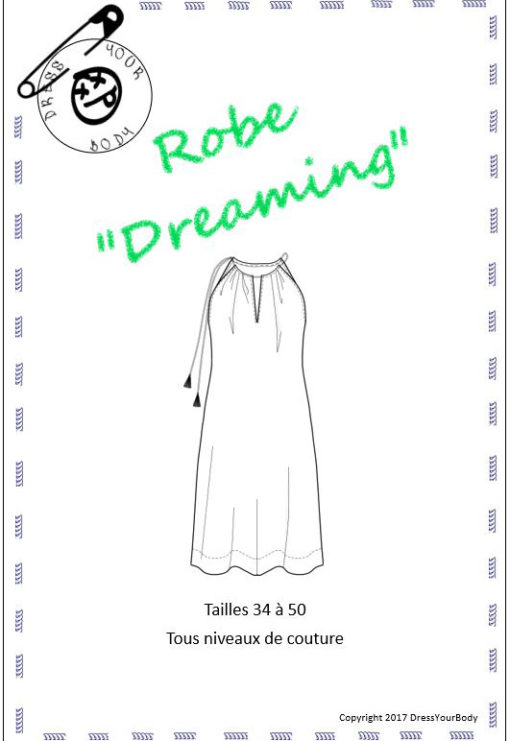 Patron Robe Dreaming - Dress Your Body