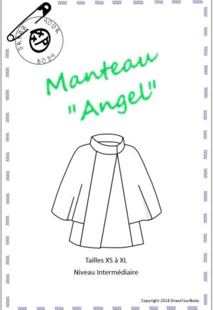 Patron couture Manteau Angel - Dress Your Body