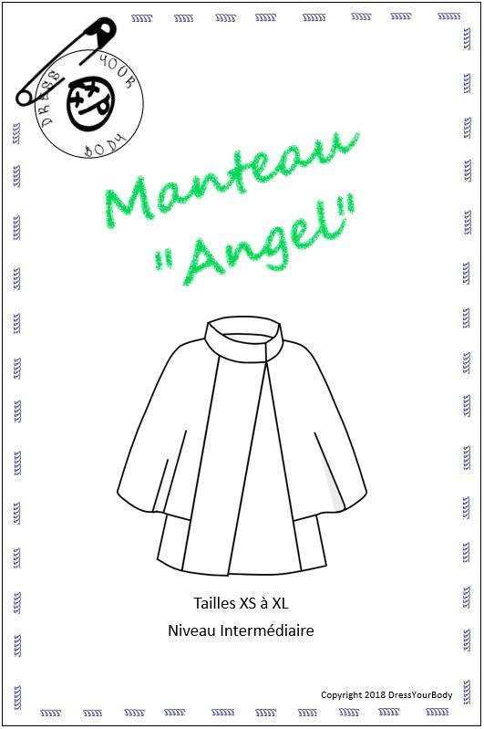 Patron couture Manteau Angel - Dress Your Body