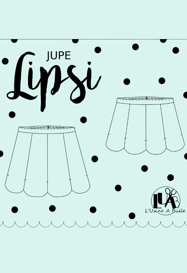 Patron Jupe Lipsi - L'Usine à Bulle